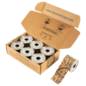 "Dynamic Tape Black Tattoo 2"" Pack"
