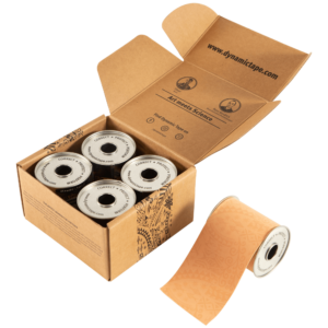 "Dynamic Tape Beige Tattoo 3"" Pack"